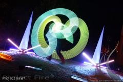 IMG_7757 - LED Show Leuchshow Lichtjonglage Glauchau Meerane
