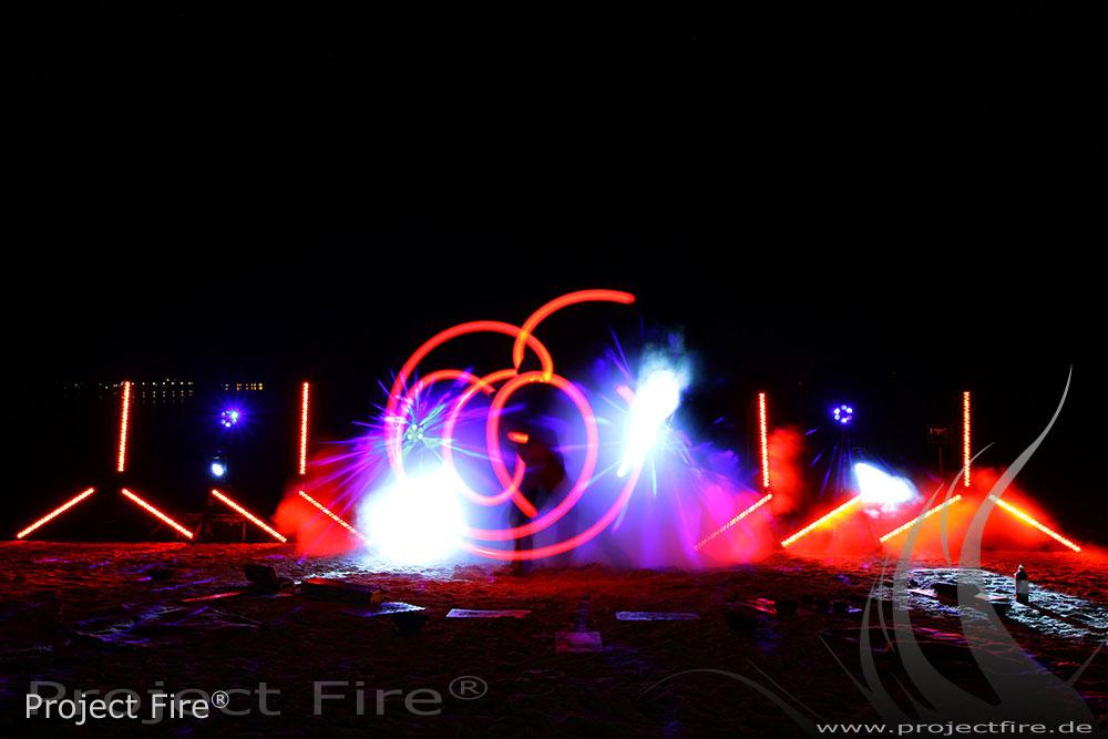IMG_1551 - Feuershow am Strand Leipzig