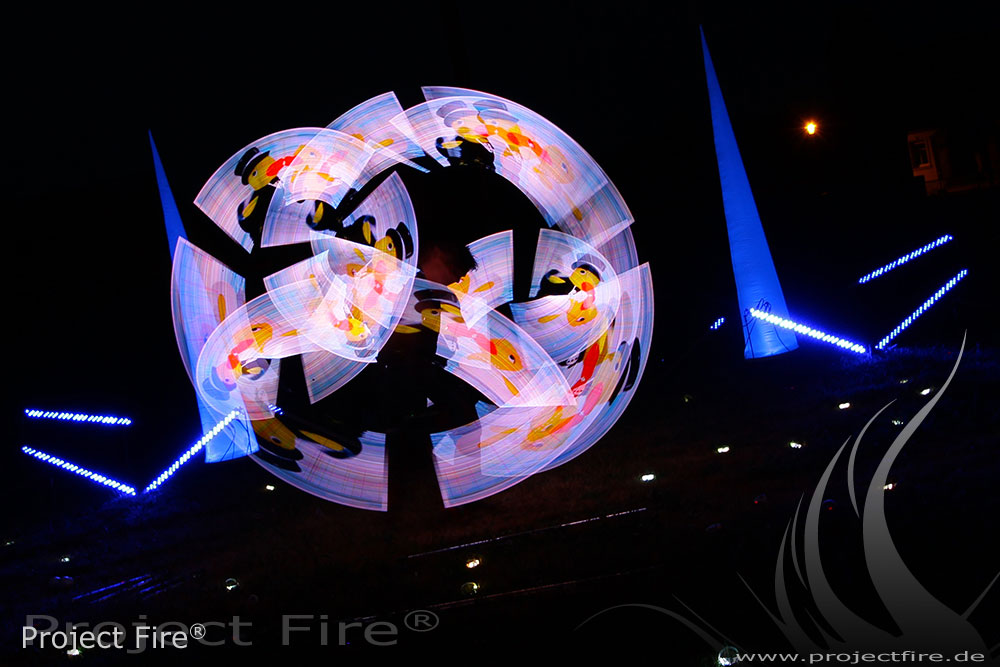 IMG_0149 - Lichtshow Project Fire LED Show mit Logo