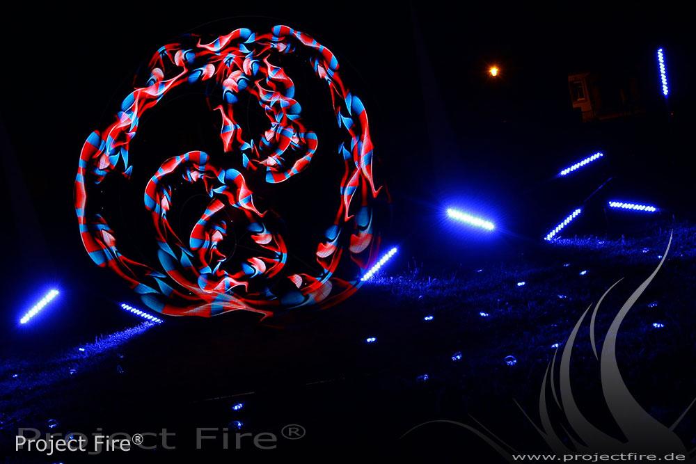 IMG_0270 - Feuerwerk Dresden Alternative Lichtjonglage Feuershow