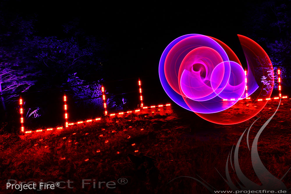 IMG_2569- Feuershow Hochzeit Bad Gottleuba LED Show