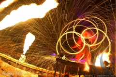 Feuershow Dresden3