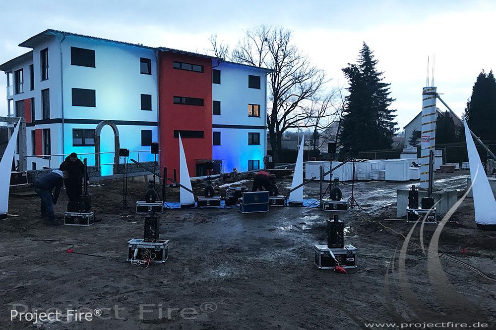 IMG_4823 - Feuerlichtshow Königsbrück Aufbau