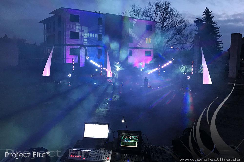 IMG_4824 - Feuerlichtshow Königsbrück Aufbau